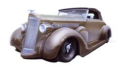1937 Packard Joe & Marcia WolKerstorfer
