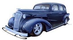 1937 Chev MS - Jim & Vicki Paulson