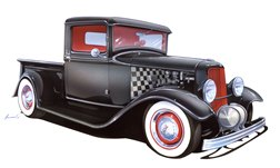 1933 Ford Porky & Lynne Scharffbillig