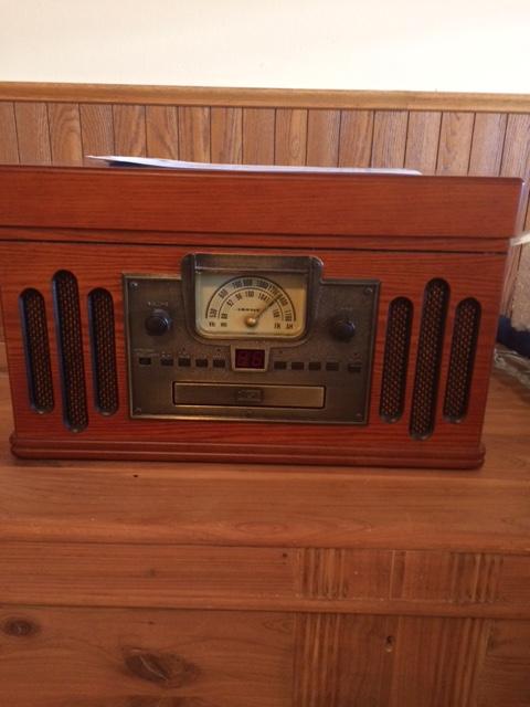 Crosley Radio entertainment center -1