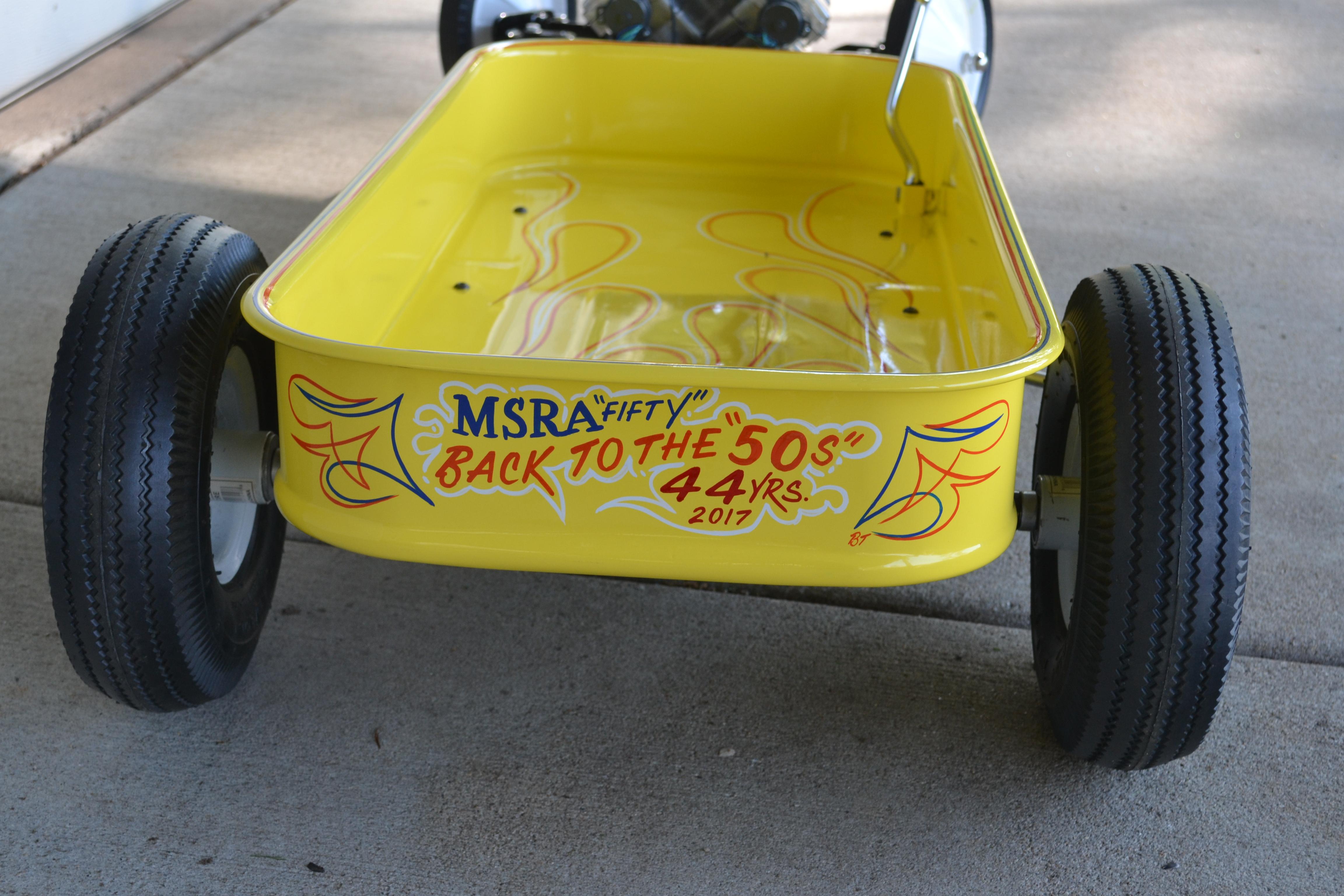 Customized Radio Flyer Wagon